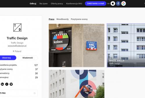 We're on Behance