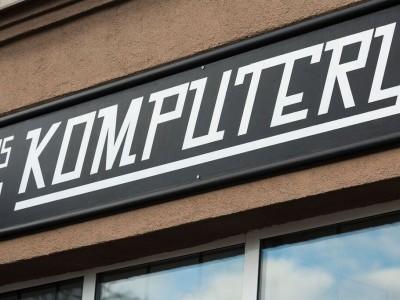 Computer signboard