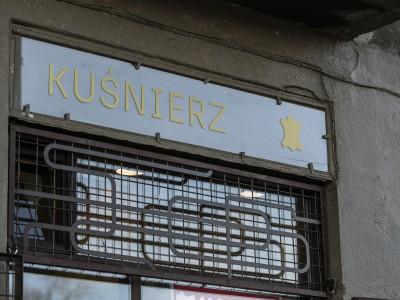 Furrier workshop signboard