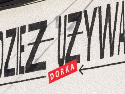 Second hand Dorka signboard