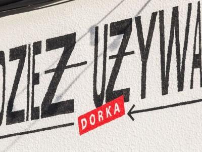 Second hand Dorka signboard
