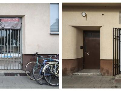 bike workshop signboard