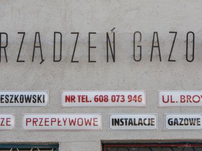 Gas equipment service