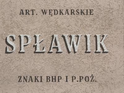 Fishing shop Splawik